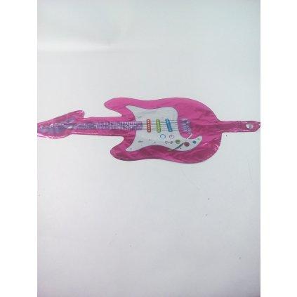 Balon gitara 58 cm (Farba Ružová, Veľkosť 58cm)
