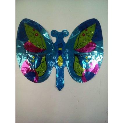 Balon motýl (Farba Modrá, Veľkosť Neurčená)