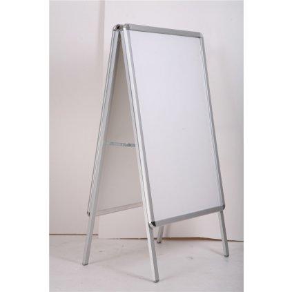 Reklamná áčkova tabuľa 80 X 120 cm. (Farba Biela, Veľkosť 120x80cm)