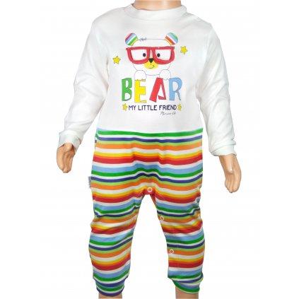Detský komplet macko, MiniWorld (Farba Multifarebné, Veľkosť 6m)