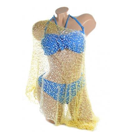 Univerzálna šatka, pareo cez plavky (Farba Zelená, Veľkosť Neurčená)