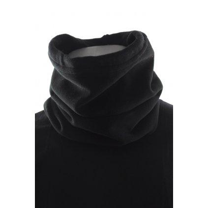 Jednofarebný fleece nákrčník (Farba Šedá, Veľkosť Neurčená)