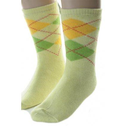 Detské thermo ponožky - lietadlo (Farba Krémová, Veľkosť 5r)