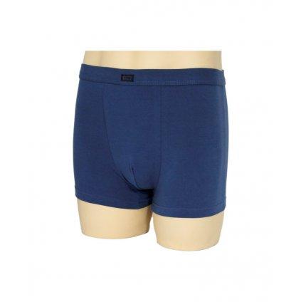 Pánske boxerky C+3 s potlačou na boku (Farba Modrá, Veľkosť M)