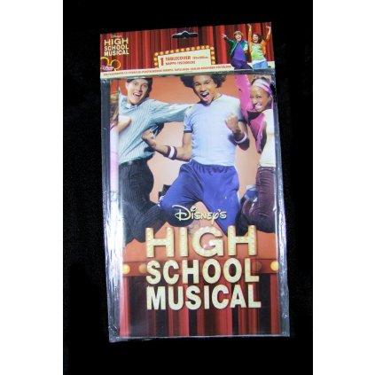 PVC obrus - High School Musical 120x180cm, PoloTrade (Farba Neurčená, Veľkosť Neurčená)