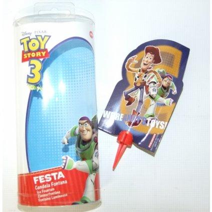 Párty fontána Toy Story3 (Farba Neurčená, Veľkosť Neurčená)