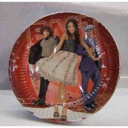 Papierové taniere veľké - HSM East, 10ks, PoloTrade (Farba Neurčená, Veľkosť Neurčená)