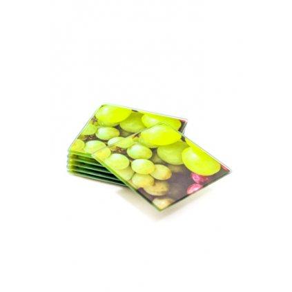 Podložky pod poháre hranaté 6ks, rôzne motívy, PoloTrade (Farba Neurčená, Veľkosť Neurčená)