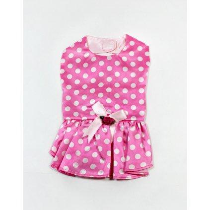Šaty pre psíka (Farba Ružová, Veľkosť S)