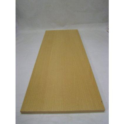 Drevená polica 120 x 35 cm (Farba Hnedá, Veľkosť 120cm)