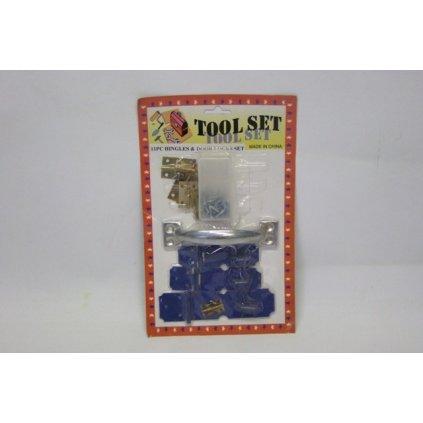 Zámok na dvere (Farba Modrá, Veľkosť 26cm)