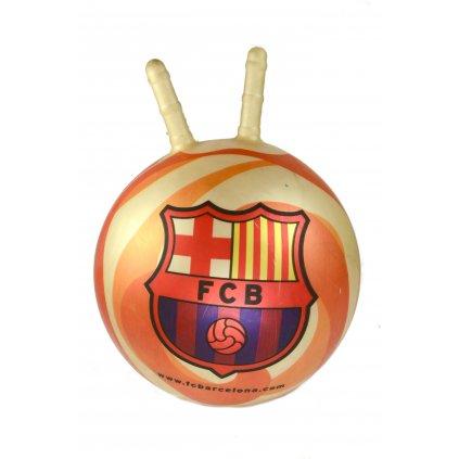 Lopta na skákanie FC Barcelona 50cm, PoloTrade (Farba Neurčená, Veľkosť Neurčená)