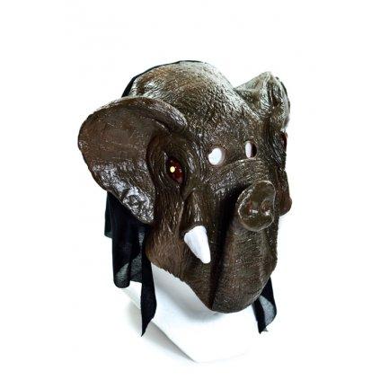 Maska na Halloween (Farba Neurčená, Veľkosť Neurčená)