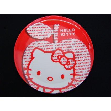 Plastový plytký tanier Hello Kitty, PoloTrade (Farba Neurčená, Veľkosť Neurčená)