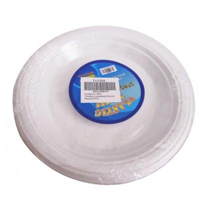 Plastové taniere 20ks, PoloTrade (Farba Neurčená, Veľkosť Neurčená)