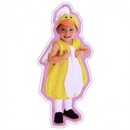 Detský kostým - malý káčer (Farba Neurčená, Veľkosť M)