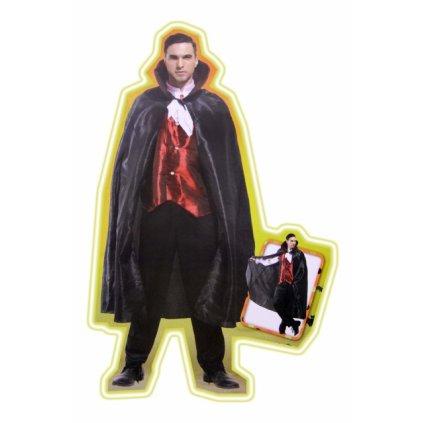 Pánsky kostým - upír (Farba Neurčená, Veľkosť UNI)