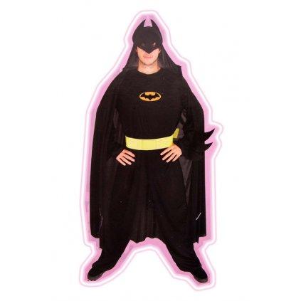 Pánsky kostým - batman (Farba Neurčená, Veľkosť UNI)