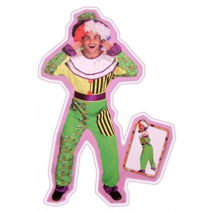 Pánsky kostým - šašo (Farba Neurčená, Veľkosť UNI)