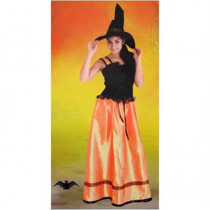 Dámsky kostým - čarodejnica (Farba Neurčená, Veľkosť UNI)