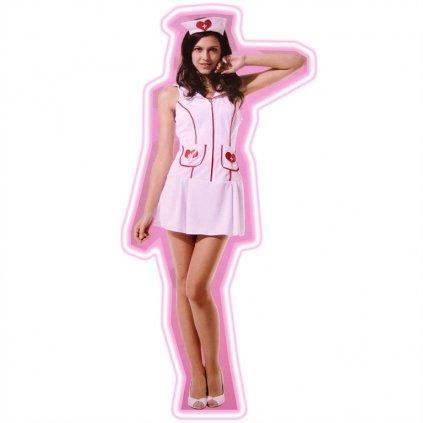 Dámsky kostým - sestrička (Farba Neurčená, Veľkosť UNI)