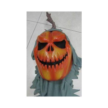 Maska Halloween-Tekvica oranžová (Farba Neurčená, Veľkosť Neurčená)