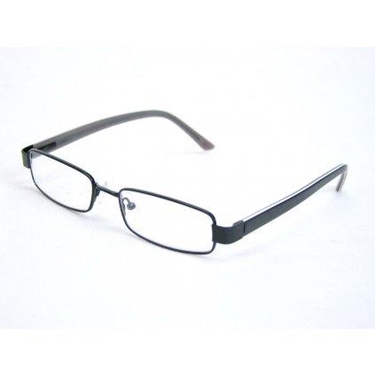 Dioptrické okuliare hrubý rám, dioptrie 0,5 až 4,0, PoloTrade (Farba Čierna, Veľkosť 0.5)