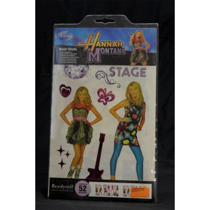 Hannah Montana samolepiaca dekorácia (Farba Neurčená, Veľkosť Neurčená)