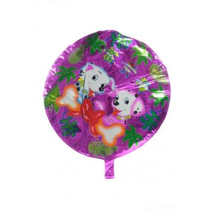 Fóliový balón - mix motív (Farba Neurčená, Veľkosť Neurčená)