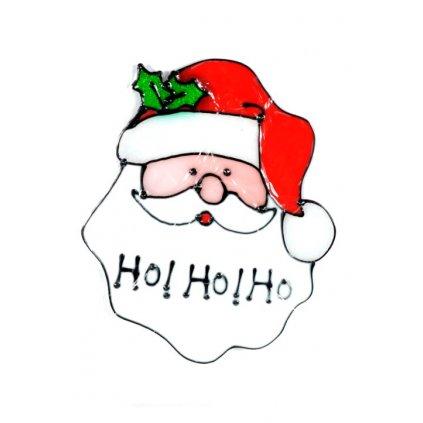 Nálepky na sklo vianočné motívy (Farba Neurčená, Veľkosť Neurčená)