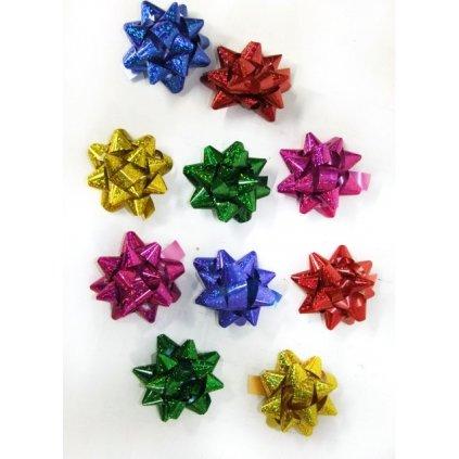 10ks ozdobných hviezd (Farba Neurčená, Veľkosť Neurčená)