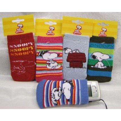 Obal na mobil Snoopy (Farba Neurčená, Veľkosť Neurčená)
