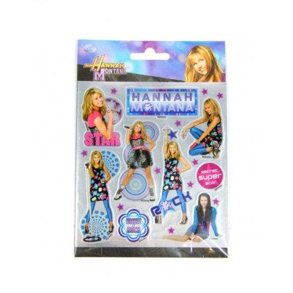 Nálepky Hannah Montana, metalické (Farba Neurčená, Veľkosť Neurčená)