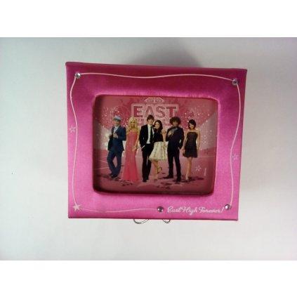 Krabička šperkovnica High School Musical 13x12x7cm (Farba Neurčená, Veľkosť Neurčená)