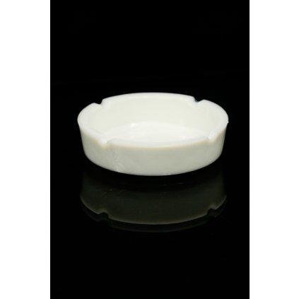 Keramický popolník Klasik, biely (Farba Neurčená, Veľkosť Neurčená)