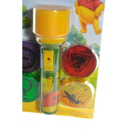 Baterka Macko Pooh- premietačka (Farba Neurčená, Veľkosť Neurčená)