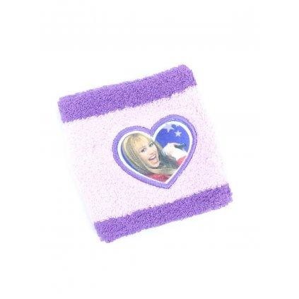 Potítko na ruku - Hannah Montana (Farba Svetloružová, Veľkosť 8x8cm)