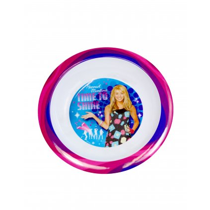 Disney hlboký tanier Hannah Montana, PoloTrade (Farba Neurčená, Veľkosť Neurčená)