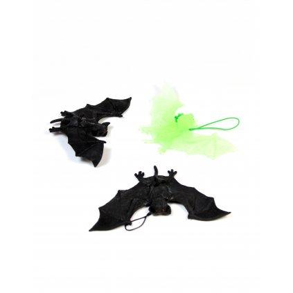 Halloweenske netopiere 3ks (Farba Neurčená, Veľkosť Neurčená)
