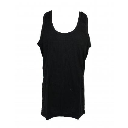 Čierne pánske tielko (Farba Čierna, Veľkosť 3XL)