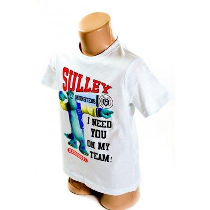Chlapčenské tričko Monsters - Sulley (Farba Biela, Veľkosť 4r)