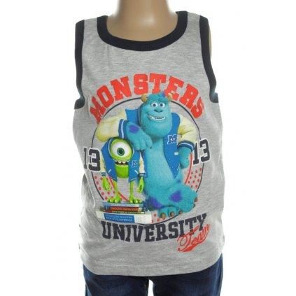 Detské tielko - Monsters (Farba Svetlomodrá, Veľkosť 8r)