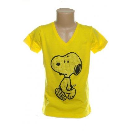 Detské tričko Snoopy (Farba Biela, Veľkosť 8r)