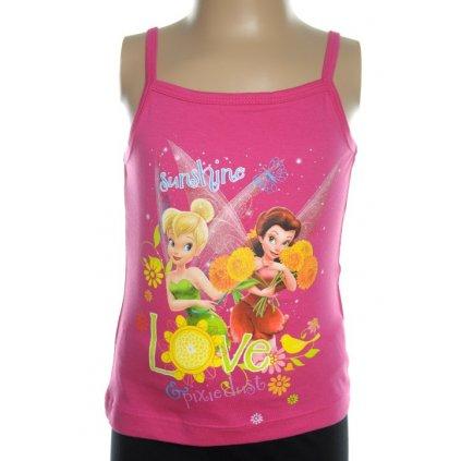 Detské tielko - Tinker Bell (Farba Svetloružová, Veľkosť 6r)