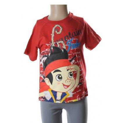 Detské tričko - JAKE ET LE (Farba Biela, Veľkosť 6r)