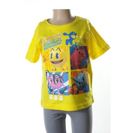 Detské tričko - PAC MAN (Farba Svetlomodrá, Veľkosť 8r)