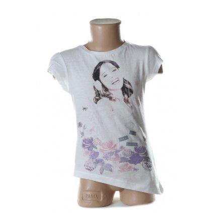 Detské tričko - VIOLETTA (Farba Biela, Veľkosť 6r)