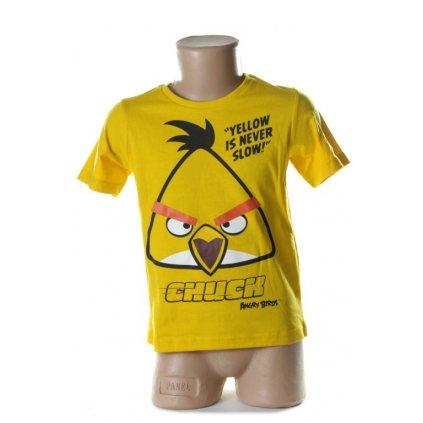 Detské tričko - ANGRY BIRDS, 2-OE1519 (Farba Červená, Veľkosť 10r)