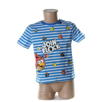 Detské tričko - ANGRY BIRDS, 2-OE1520 (Farba Červená, Veľkosť 4r)