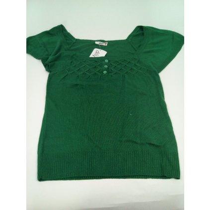 Dámsky sveter (Farba Zelená, Veľkosť M)